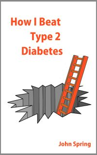 How I Beat Type 2 Diabetes by John Spring Cover With Border