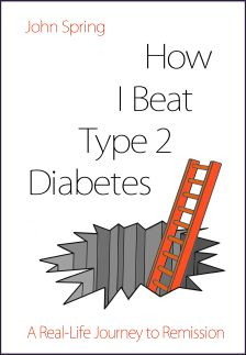how I beat type 2 diabetes john spring cover border